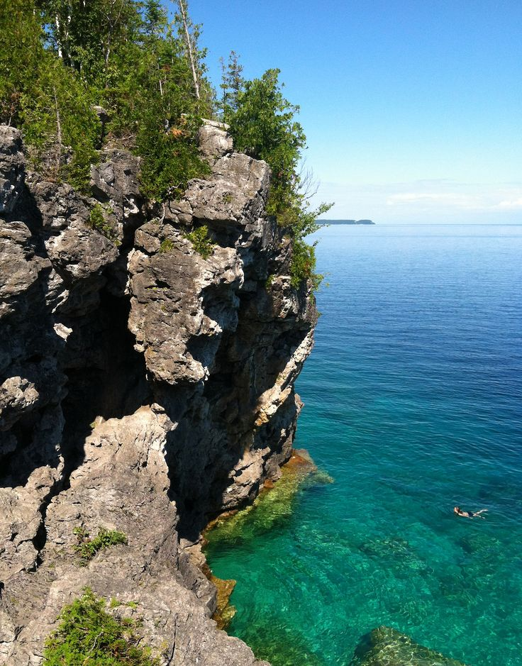 Bruce Peninsula National Park, Ontario – at the Grotto
