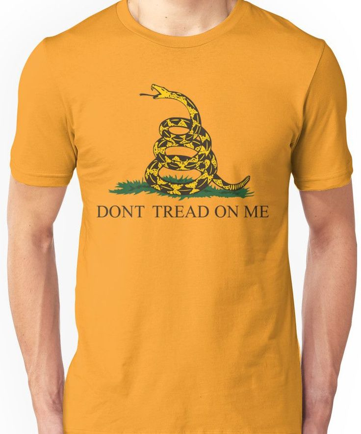 The Gadsden flag Unisex T-Shirt