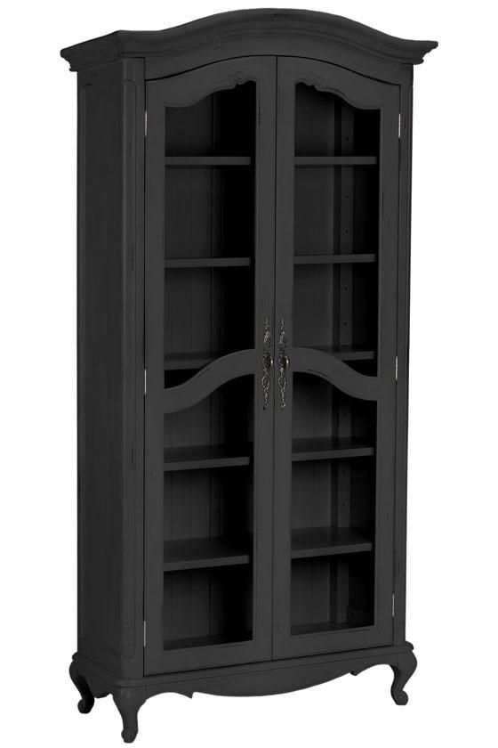 Provence Double Bookcase - Glass Door Bookcases - Bookcases - Furniture | HomeDecorators.com