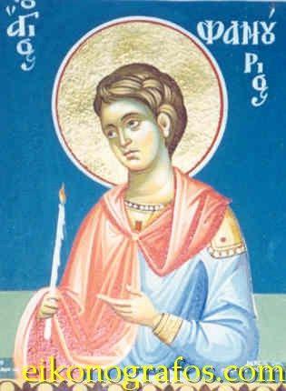 Iconography - Byzantine icons - eikonografos.com - Άγιοι - Saints (Για ιεράρχες δες στην ανάλογη κατηγορία)/ΑΓΙΟΣ ΦΑΝΟΥΡΙΟΣ - ST FANOURIOS