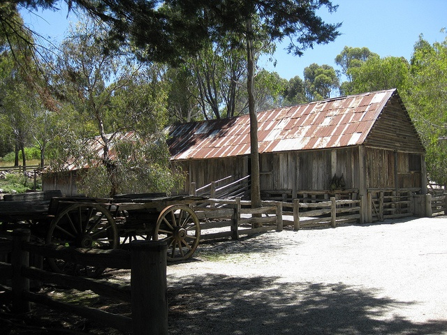 1836 Emu Bottom homestead Near Sunbury vic . Oldest existing farmhouse by settlers in Vic.
