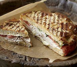 Panera Bread Restaurant Copycat Recipes: Turkey and Provolone Panini