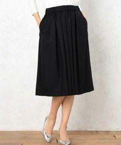 ◆CF W ギャザー スカート