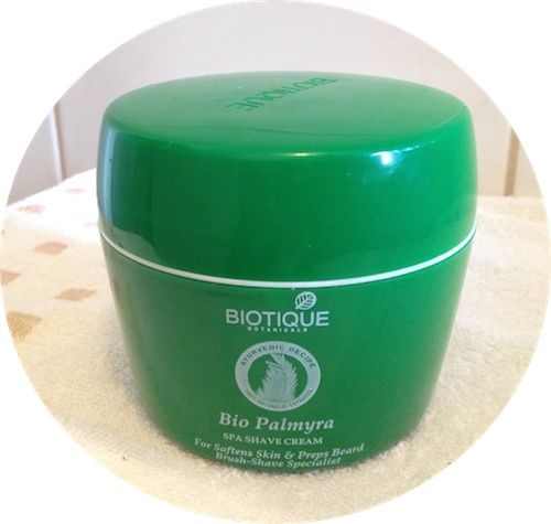 A great indian shaving cream: Biotique Bio Palmyra Отличный индийский крем для бритья - Biotique Bio Palmyra