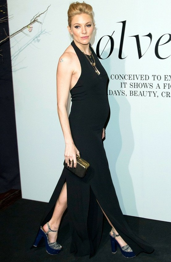 Sienna Miller pregnant.. so chic
