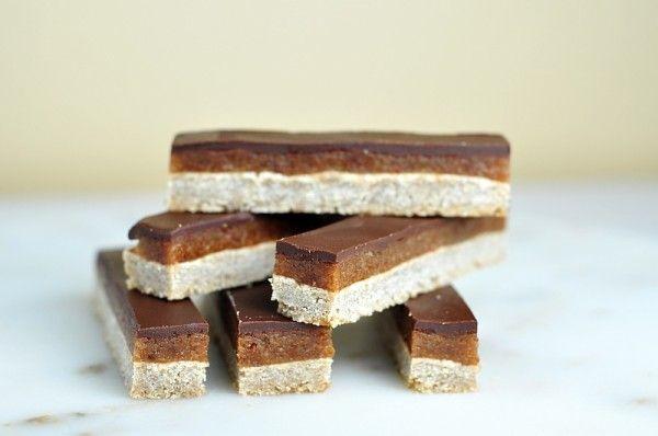karamelovo-cokoladove tycinky