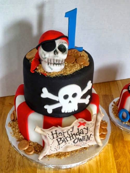 BarraDoce.com.br - Confeitaria, Cupcakes, Bolos Decorados, Docinhos e Forminhas: Bolos Piratas