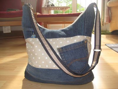 alles drin tasche jeans recycling upcycling pinterest ideen alte jeans und jeans. Black Bedroom Furniture Sets. Home Design Ideas