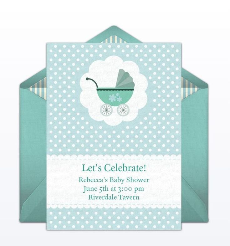 9 free online baby shower invitations your guests will love baby carriage evite from punchbowl