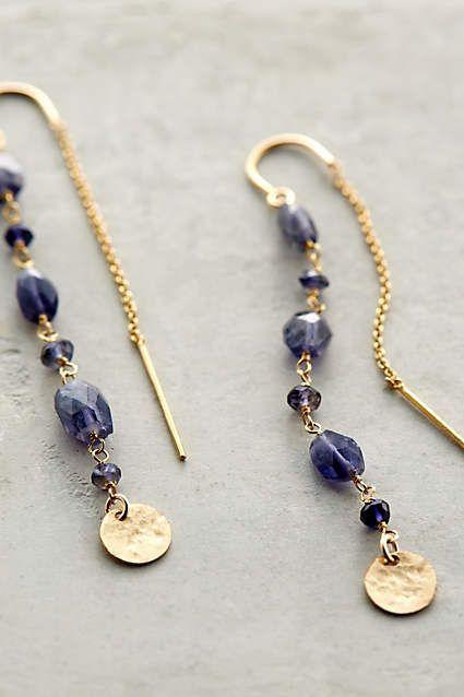 Threaded Coin Earrings - anthropologie.com