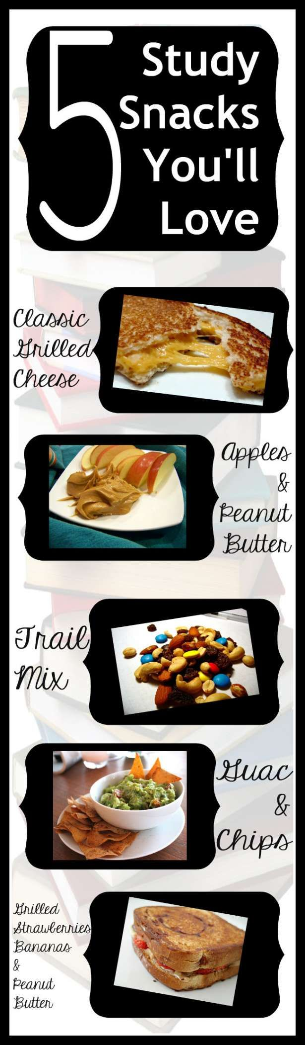 STUDY SNACKS! Healthy Snack Ideas! Easy and ... - YouTube