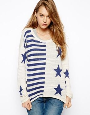 Hilfiger Denim Stars And Stripes Jumper
