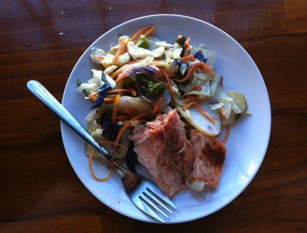 Salmon and Macadamia Superslaw