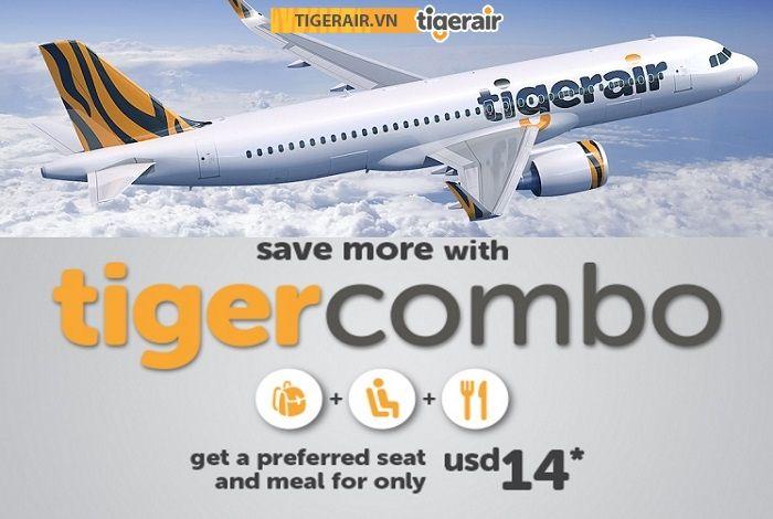 Bay tiết kiệm cùng Tiger Air với gói combo chỉ 14 USD - Đại lý Tiger Airways chính thức Việt Nam
