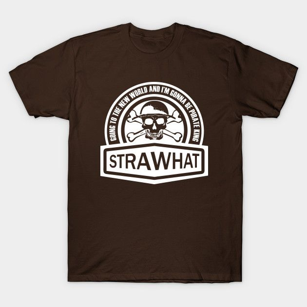 Strawhat Pirate (White) One Piece anime