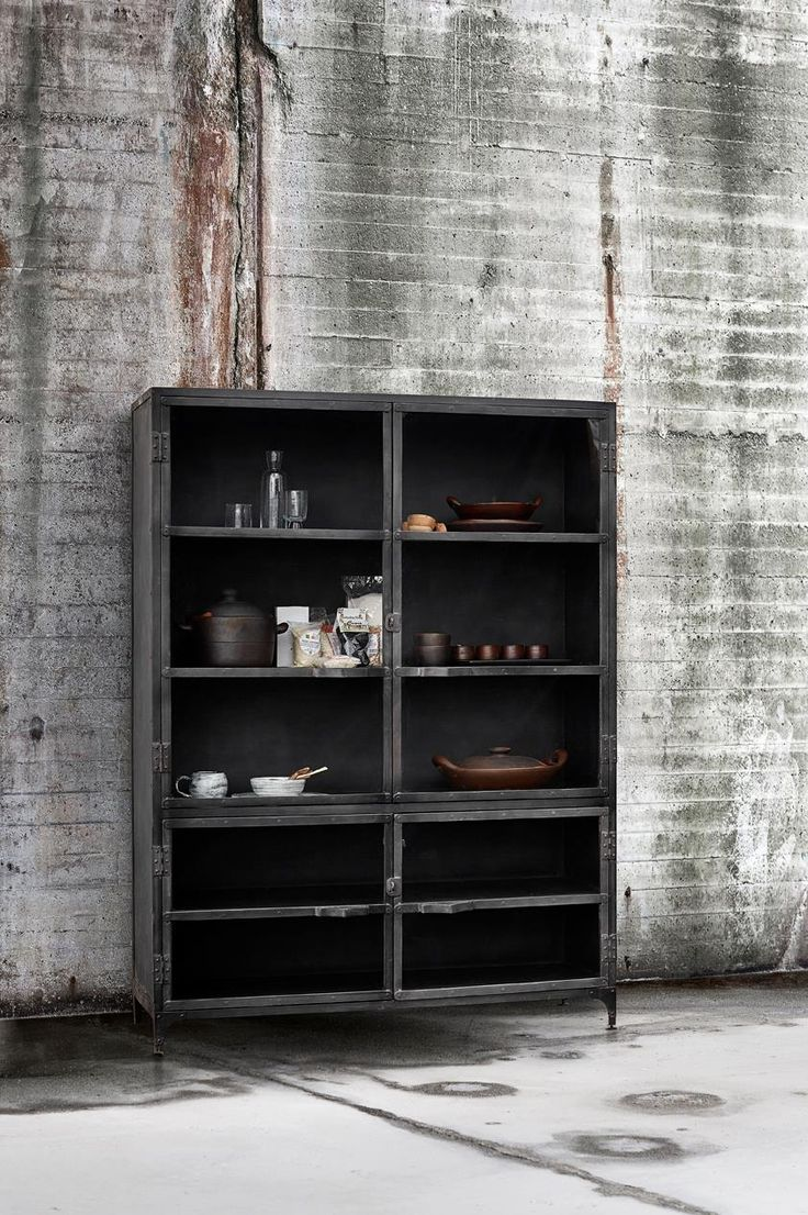 Iron Glass Cabinet - MUUBS