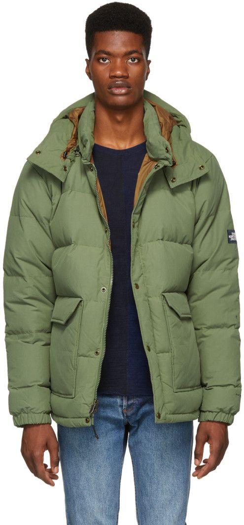 99da3d06a The North Face - Green Down Sierra 2.0 Jacket | Clothes | Jackets ...