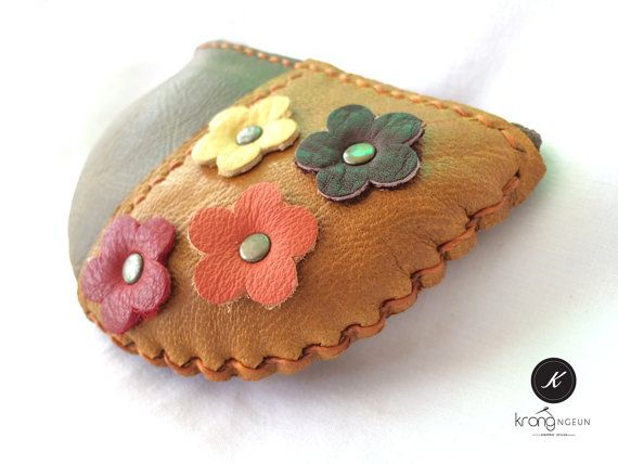 FREE SHIPPING,  leather coin purse, Small gift