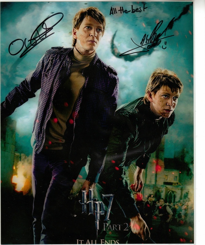 James and Oliver Phelps<3