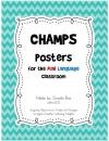 CHAMPS poster for the Dual Language Classroom product from MrsRiosPrintables on TeachersNotebook.com