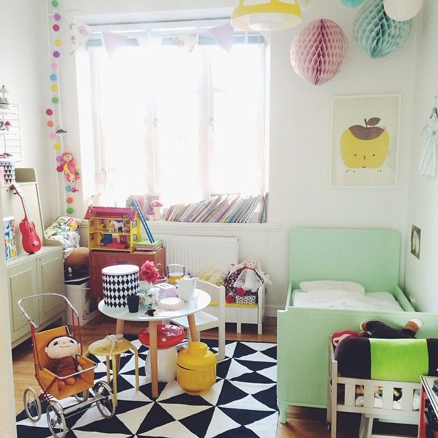 Today's kids room makes me want to drink hot cocoa and watch Disney movies.