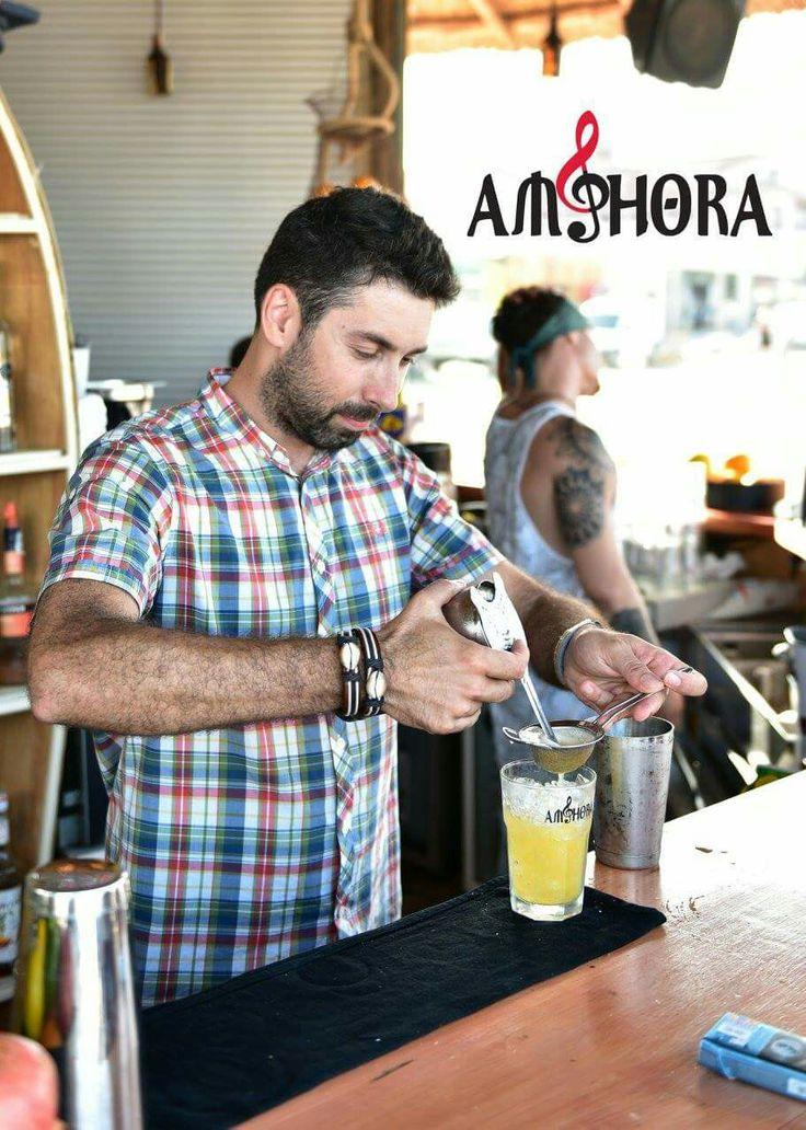 Popular Unknown Swizzle w. Matusalem rum, falernum, Orange & lime juices, nutmeg @ Amphora Vama Veche, România