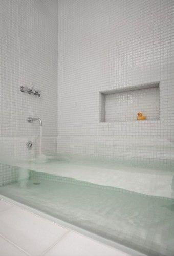 David Stern's custom made tub, what a neat idea
