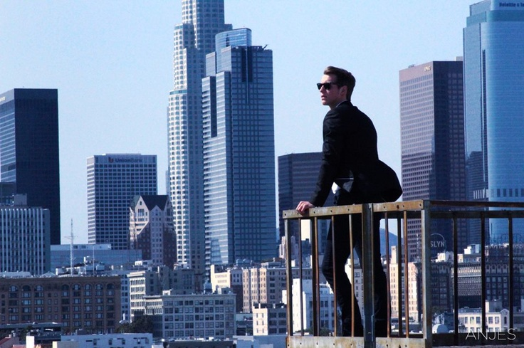 I ❤ Downtown LA!   Thibault, Downtown Los Angeles, California / Photographer: Anjes: Downtown Los Angel