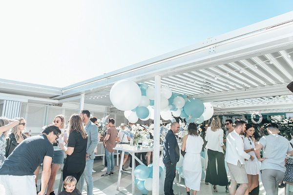 Event in the spotlight: Nikki Phillips and Dane Rumble's baby shower at Watsons Bay Boutique Hotel