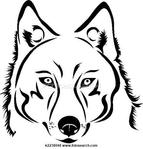 Wolf Stock Illustration Images. 1339 wolf illustrations ...