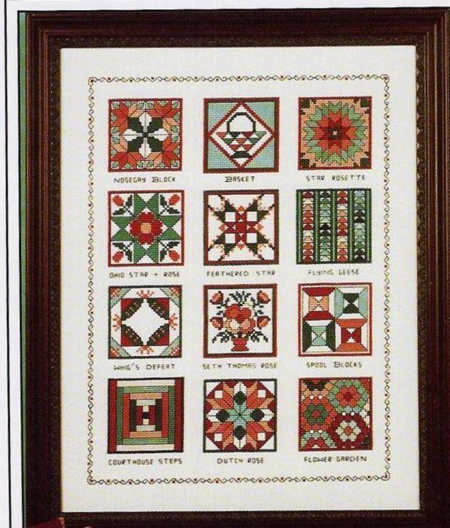 Gallery.ru / Фото #31 - 163 Quilts Cross Stitch - joobee