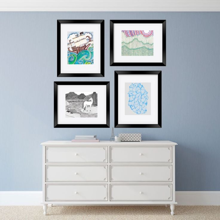 Framed prints by artist Laura Maxwell
