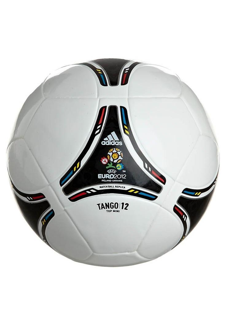 EURO 2012 MINI - Ball - white/black