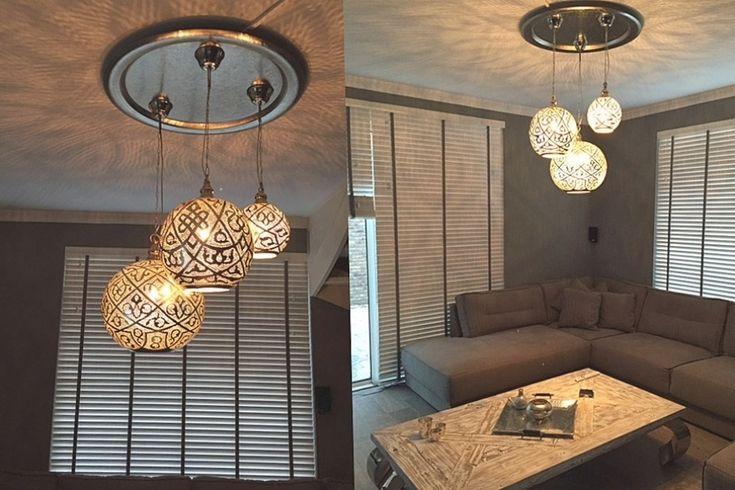 Sofa Lounge Met Salontafel Industrieel In Lampen Woonkamer  in  Woonkamer Inrichten Met Lamp Plafond Industrieel