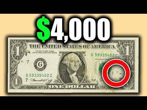 DO YOU HAVE A RARE DOLLAR BILL IN YOUR WALLET? LOO…