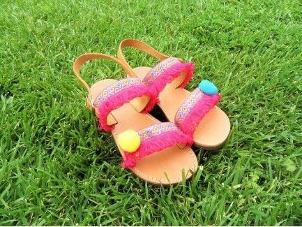 Bohemian Kids Sandals