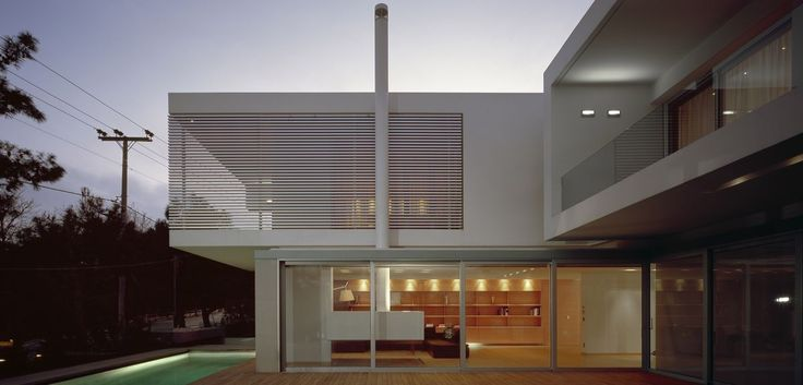 Private residence in filothei athens greece isv architects archi isv pinterest - Maison de charme demetriou ...