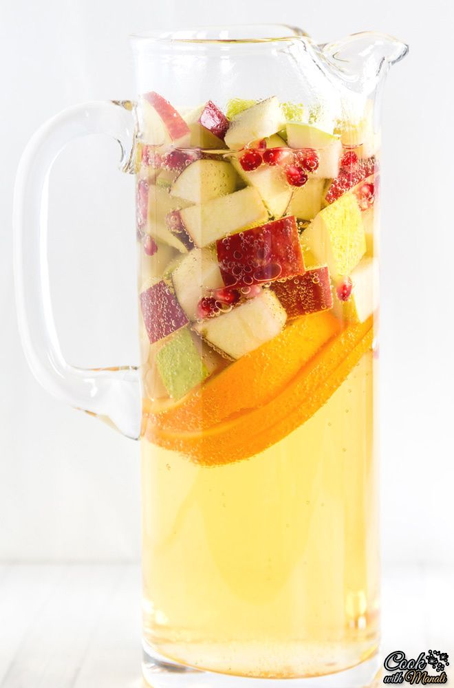 Celebrate the flavors of fall when you make Non Alcoholic Apple Cider Sangria. Kids and adults alike will love this refreshing drink!