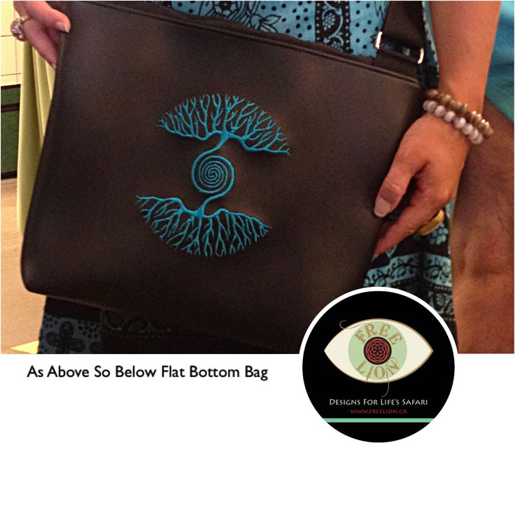 Made to order for one of our awesome clients in Portland, OR. Contact us via our website for you order! #custommade #madetoorder #vegan #bag #handmade #treeoflife #asabovesobelow #vancity #oneofakind