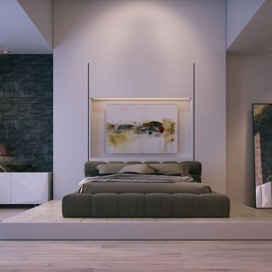 Le Bijou luxury design bedroom interior