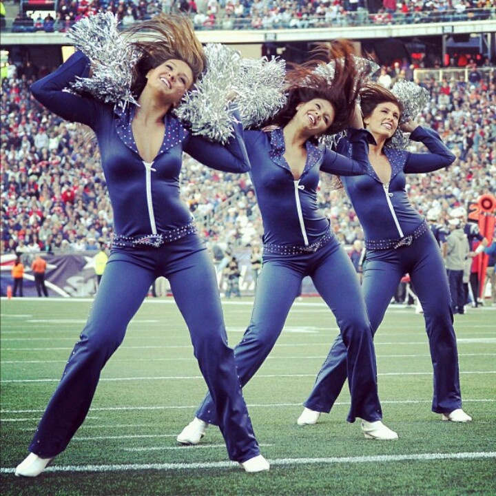 Patriots Cheerleaders And Patriots On Pinterest: New England Patriots Cheerleaders