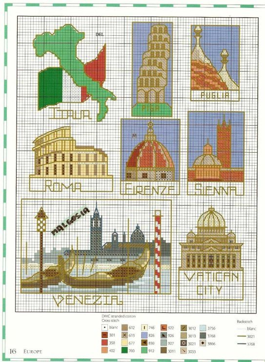 101 Best Images About Cross Stitch Travel On Pinterest