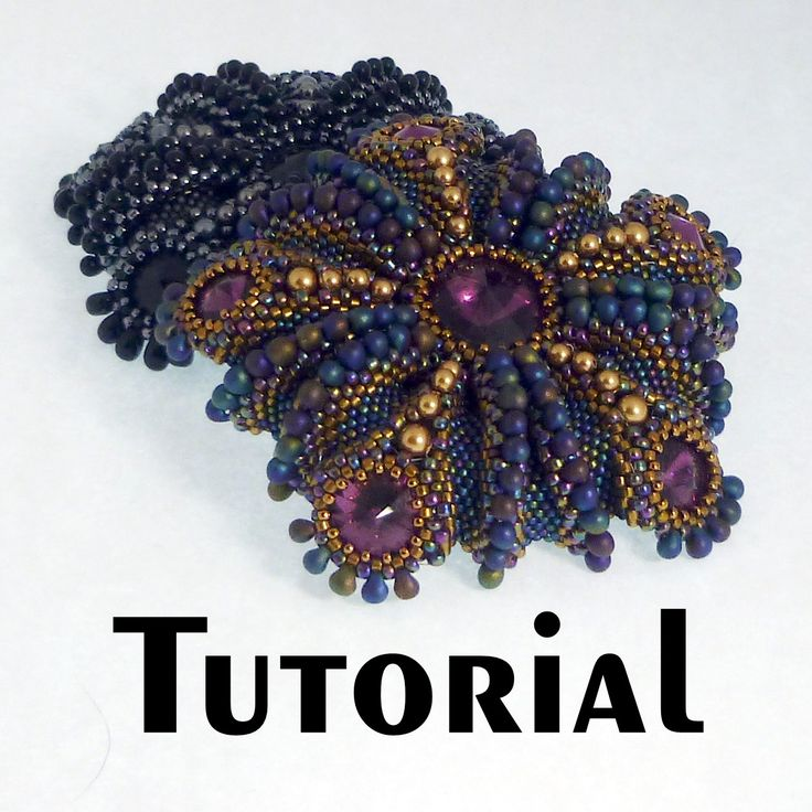 71 best Bead and Button Tutorials images on Pinterest | Bead ...