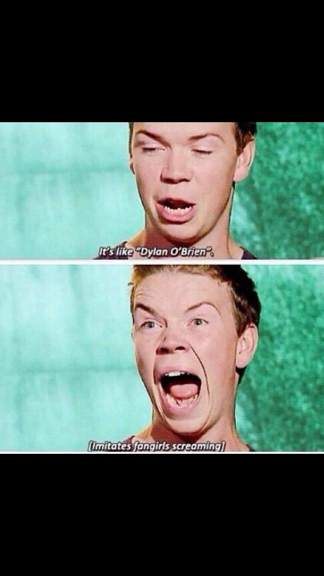 Me during all Dylan O'Brien moments
