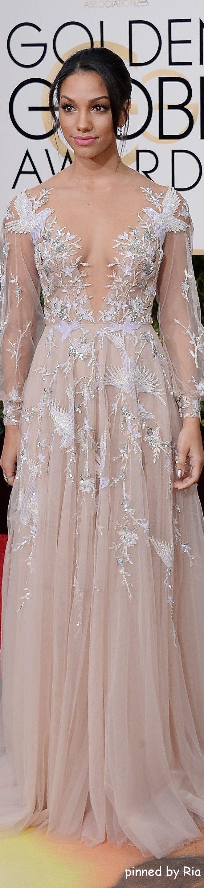 Corinna Foxx l Golden Globe Awards 2016 l Ria