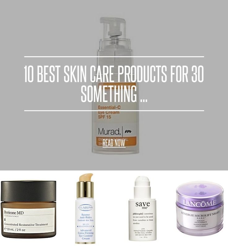 "10 Best Skin Care Products for 30 Something ... - Beauty [ more at http://beauty.allwomenstalk.com ] If you're in your <a href=""http://allwomenstalk.com/7-reasons-i-can-enjoy-life-in-the-30s/"">thirties</a>, chances are, you need a new skin-care regimen, one that's less focused on preventing and treating acne, and more focused on heading off wrinkles and age spots. In other words, it's time for an update! Not sure what to try or what to buy? Here'... #Beauty #Acne #Facial #Care #Treating…"