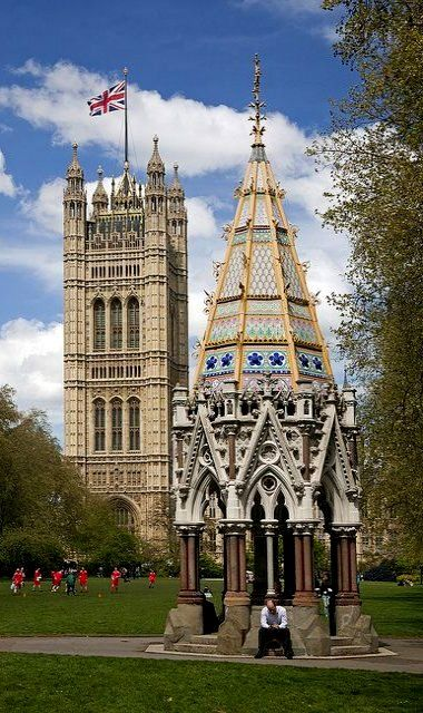 Victoria Tower ~ Westminster, London   Flickr - Photo by Thomas Mulchi