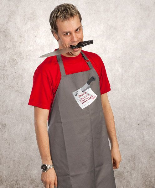 funny cooking apron Jason's Funny Apron Husband Gift by store365