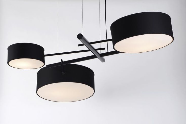 Excel Chandelier by Rich Brilliant Willing for Roll & Hill | Space Furniture