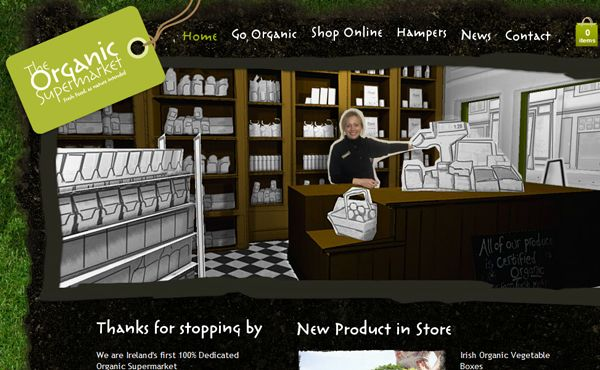 29 Green Eco-Friendly Website Layouts